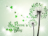 Saint Patrick Day Dandelions