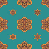 Seamless pattern boho chic