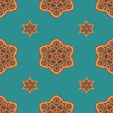 Seamless pattern boho chic