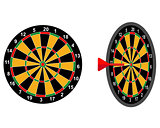 darts game arrow