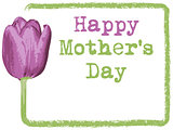mothers day greeting card background