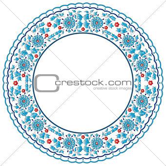 Antique ottoman turkish pattern vector design ninety nine