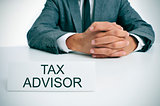 tax advisor at the office