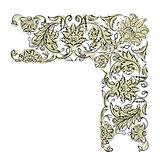 Floral vignette for your design