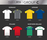 European Cup 2016 - Group C