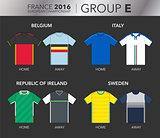 European Cup 2016 - Group E