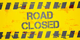 Road Closed Background