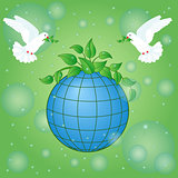 Earth Day greeting card
