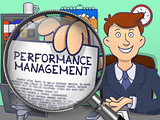 Performance Management through Lens. Doodle Style.