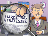 Marketing Strategies through Lens. Doodle Style.
