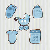 A set of objects for baby1
