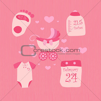 A set of objects for baby2