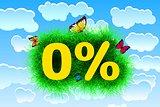 Zero percent Title