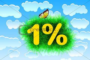 One percent Title