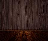 Grunge Wooden Interior