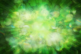Soft Background with Shamrock