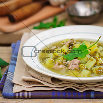 A Plate of Sorrel Soup