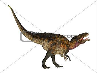 Acrocanthosaurus Side Profile