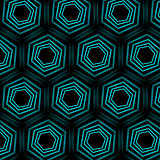Turquoise optical illusion background