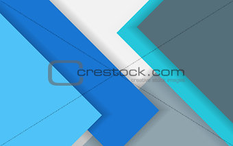 Abstract background in modern material design style
