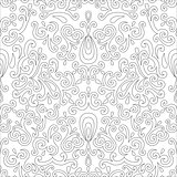 Vintage beige seamless pattern, ornamental vector background