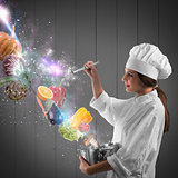 Magic in cooking