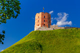 Gediminas Tower in Vilnius, Lithuania