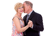 upscale caucasian couple