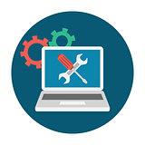 Computer Service Icon