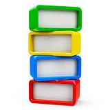 Four rectangle - four steps