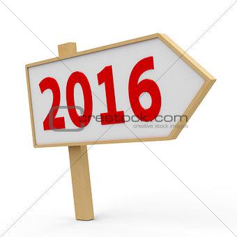 2016 white banner