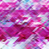 geometric triangle abstract  violet  mosaic background, purple pattern