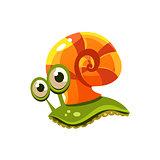 Snail. Vector Illustration
