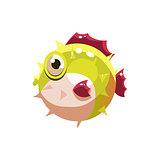 Puffer. Vector Illustration