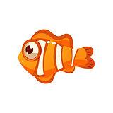 Clown Fish. Vector Illustration
