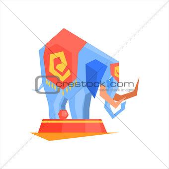 Circus Trained Elephant