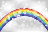 Shimmering abstract rainbow background
