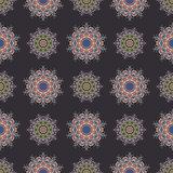 The boho style. Seamless pattern