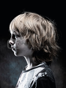 Boy with Blond Hair