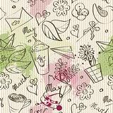 seamless texture spring theme