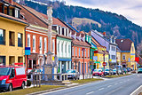 Bad sankt Leonhard colorful streetscape