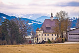 Schloss Wiesenau view in Lavanttal