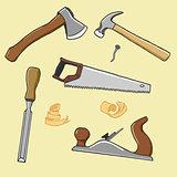 carpenter illustration instrument