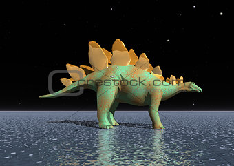 A fantastic tyrannosaurus