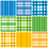 Seamless colorful fabric pattern