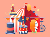 Circus tent design