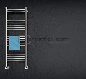 modern radiator for bathroom