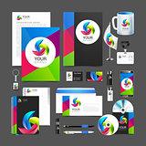 corporate identity template company style brandbook