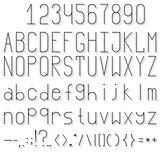 Volume font
