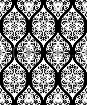 paisley vector seamless